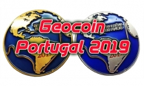 Geocoin Portugal 2019 - Samples